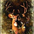 """Deer in the Wilderness Signature Collection 50"""" x 60"""" Fleece Throw Blanket"""