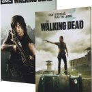 The Walking Dead Daryl and The Prison Canvas Print Combo