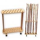 23 Cane Wooden Walking Cane Display Rack