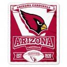 "Arizona Cardinals 50"" x 60"" Marque Fleece Blanket"