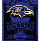 "Baltimore Ravens 50"" x 60"" Marque Fleece Blanket"