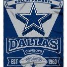 """Dallas Cowboys 50"""" x 60"""" Marque Fleece Blanket"""