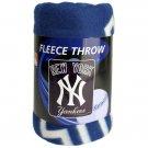 "New York Yankees 50"" x 60"" Fleece Blanket"