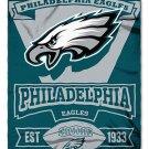"Philadelphia Eagles 50"" x 60"" Marquee Fleece Blanket"