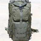 Wild Wood Olive Drab Tactical Military Style Backpack w/ Molle