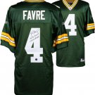 Brett Favre Green Bay Packers Autographed Jersey with SB XXXI Champs & 95 96 96 MVP Inscriptions