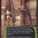 Star Wars The Phantom Menace TCG Rare Foil- Walking Droid Starfighter (Vulture Droid) #29