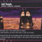Star Wars The Phantom Menace TCG Rare Foil- Jedi Temple #18
