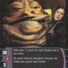 Star Wars Return of the Jedi TCG Rare- Jabba the Hutt #19