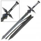 SAO Sword Art Online Black Dark Repulser Sword of Kirito