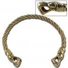 Ancient Roman Brass Torc / Torq/ Torque Neck Ring