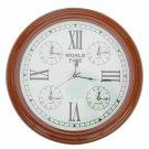 World Clock of the Ticking Moments (London, Hong Kong, New York, and Tokyo)