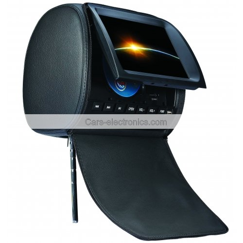 9-inch Headrest Car DVD Player with IR Games TFT LCD Digital Screen