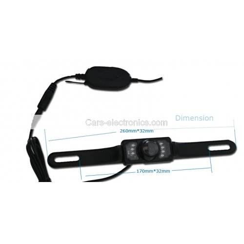 Wireless Rear View Camera Waterproof Back up Camera Wide View Angle