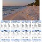 2014 calendar toolbox magnet refrigerator magnet beaches #3