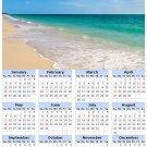 2014 calendar toolbox magnet refrigerator magnet beaches #4