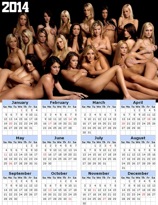 2014 calendar toolbox magnet refrigerator magnet Sexy Girls #9