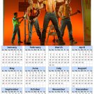 2014 calendar toolbox magnet refrigerator magnet Sexy Guys #2