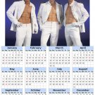 2014 calendar toolbox magnet refrigerator magnet Sexy Guys #4