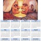 2014 calendar toolbox magnet refrigerator magnet Optical Illusions #2