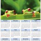 2014 calendar toolbox magnet refrigerator magnet Frogs #4