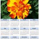 2014 calendar toolbox magnet refrigerator magnet Flowers #4