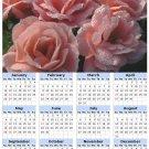 2014 calendar toolbox magnet refrigerator magnet Flowers #5