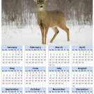 2014 calendar toolbox magnet refrigerator magnet Deer #7