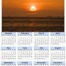 2014 calendar toolbox magnet refrigerator magnet beaches #6