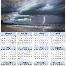 2014 calendar toolbox magnet refrigerator magnet weather #7