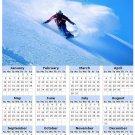 2014 calendar toolbox magnet refrigerator magnet Extreme Sports #1