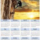 2014 calendar toolbox magnet refrigerator magnet Extreme Sports #3