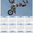 2014 calendar toolbox magnet refrigerator magnet Extreme Sports #6