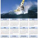 2014 calendar toolbox magnet refrigerator magnet Extreme Sports #7