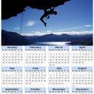 2014 calendar toolbox magnet refrigerator magnet Extreme Sports #8