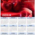 2014 calendar toolbox magnet refrigerator magnet Love #7