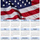 2014 calendar toolbox magnet refrigerator magnet Patriotic #4