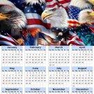 2014 calendar toolbox magnet refrigerator magnet Patriotic #7