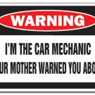 New toolbox magnet refrigerator car mechanic your mother warned you about
