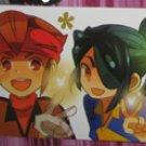Inazuma Eleven Endo&Kazemaru Bookmark