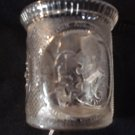 """Historical Glass Mug, 1896 McKinley """"Protection and Plenty"""", McKee Glass Co."""