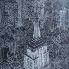 "City Scape ""New York, New York"" Framed, Signed, Numbered Print, S. Finkenberg"