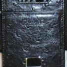 Colibri ID Credit Card Case  MONEY HOLD BLACK  Leather