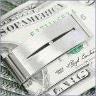 Colibri Optic Money Clip WITH GENUINE TOPAZ  LMC108900