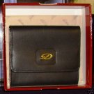 S.t. St Dupont BLACK  ITALIAN  Leather CHANGE PURSE