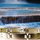Colibri Stainless & 14k DOTs Bracelet $129 HBR002000