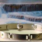Colibri Stainless & 14k Screws Bracelet $129 HBR001000