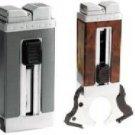 Colibri Precision Quantum cigar Lighter Cutter silver