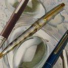 Cross MARBLED Ballpoint Pen 23K   & 5 REFILLS