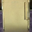 S. T. Dupont Line  Lighter SILVER  DIAMOND PATTERN